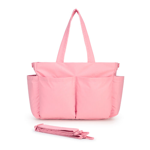 Light Multi-Purpose Tote -Rose Pink (L)