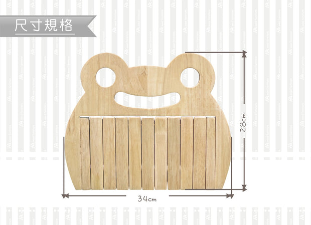 【Grow with Me】Wall Mounted Coat Rack with Retractable Hooks 實木造型壁掛