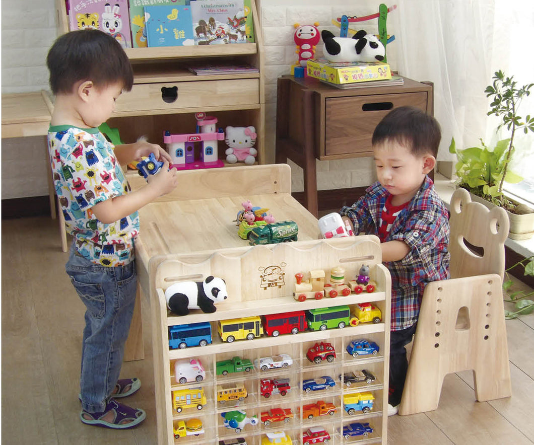 【Grow with Me】Mini Collectibles Display Organizer 小汽車展示收納架 (預購)