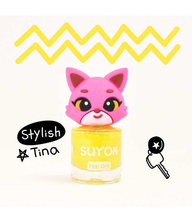 Kids Nail Polish - Stylish Tina - Yellow