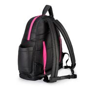 Airy Backpack Baby Diaper Bag -Black Pink (M)