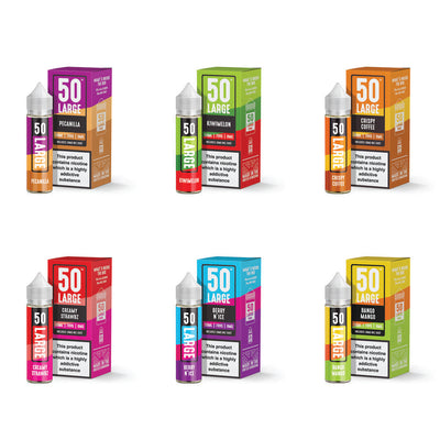 50ml Short Fill Range by 50Large