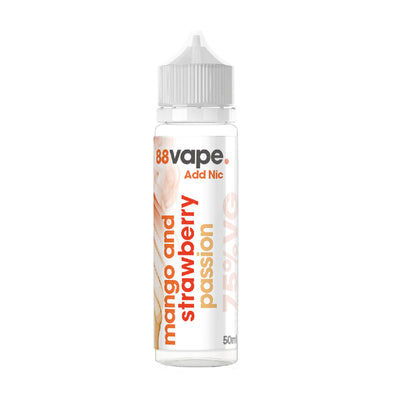 Mango & Strawberry Passion 50ml Short Fill by 88 Vape