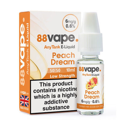 Peach Dream 10ml by 88 Vape