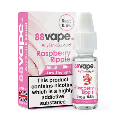 Raspberry Ripple 10ml by 88 Vape