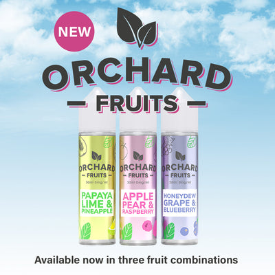 Honeydew Grape & Blueberry 50ml Short Fill by Orchard Fruits
