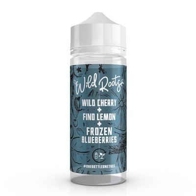 Wild Cherry, Fino Lemon & Frozen Blueberries 100ml Shortfill by Wild Roots eLiquids