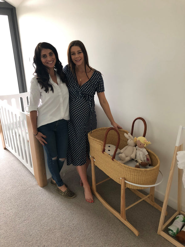 Spotted: Adinkra Designs Baby Moses Basket in Lisa Hyde's (The Bachelor) Lavish Baby Nursery
