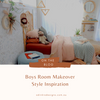 Boys Room Decor Inspiration