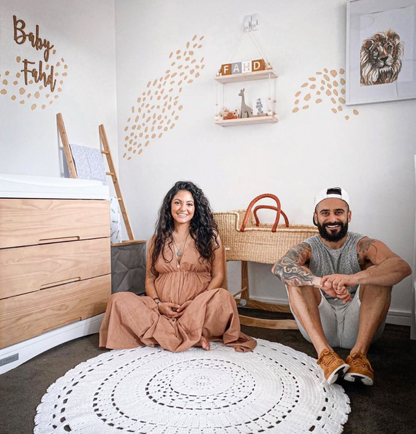 Spotted: Gogglebox: Sarah Marie and Matty reveal pictures of their adorable baby nursery featuring our natural baby moses basket!