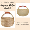 "The truth about Seagrass ""Bolga"" Baskets"