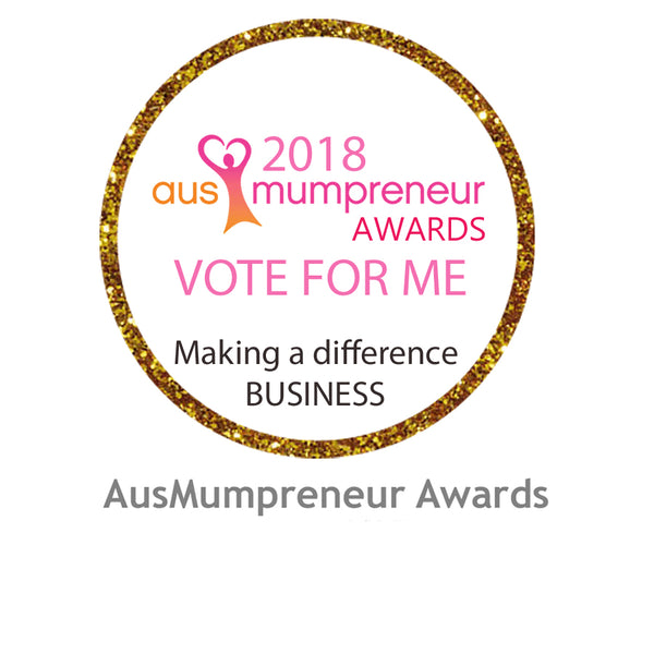 Please Vote for Us in the People's Choice AusMumpreneur Awards for Business's Making a Difference