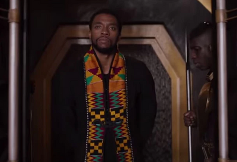 Black Panther kente cloth