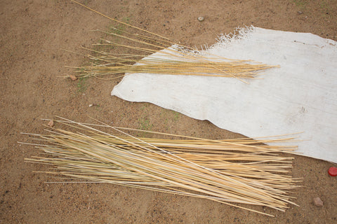 Bolga Grass for Bolga Baskets Ghana