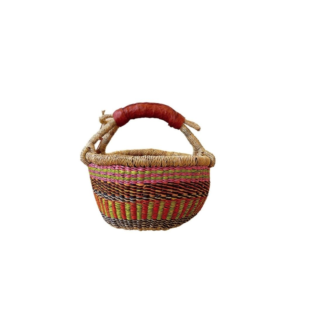 Wall Baskets - Binga Basket 30cm 1-Adinkra Designs