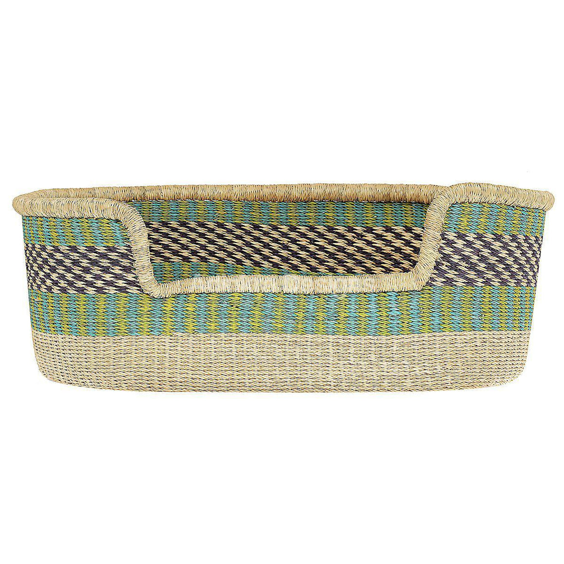Dog Basket - Medium - 2-Adinkra Designs