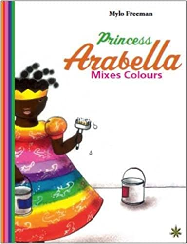 Princess Arabella Mixes Colours - Children's Book-Adinkra Designs