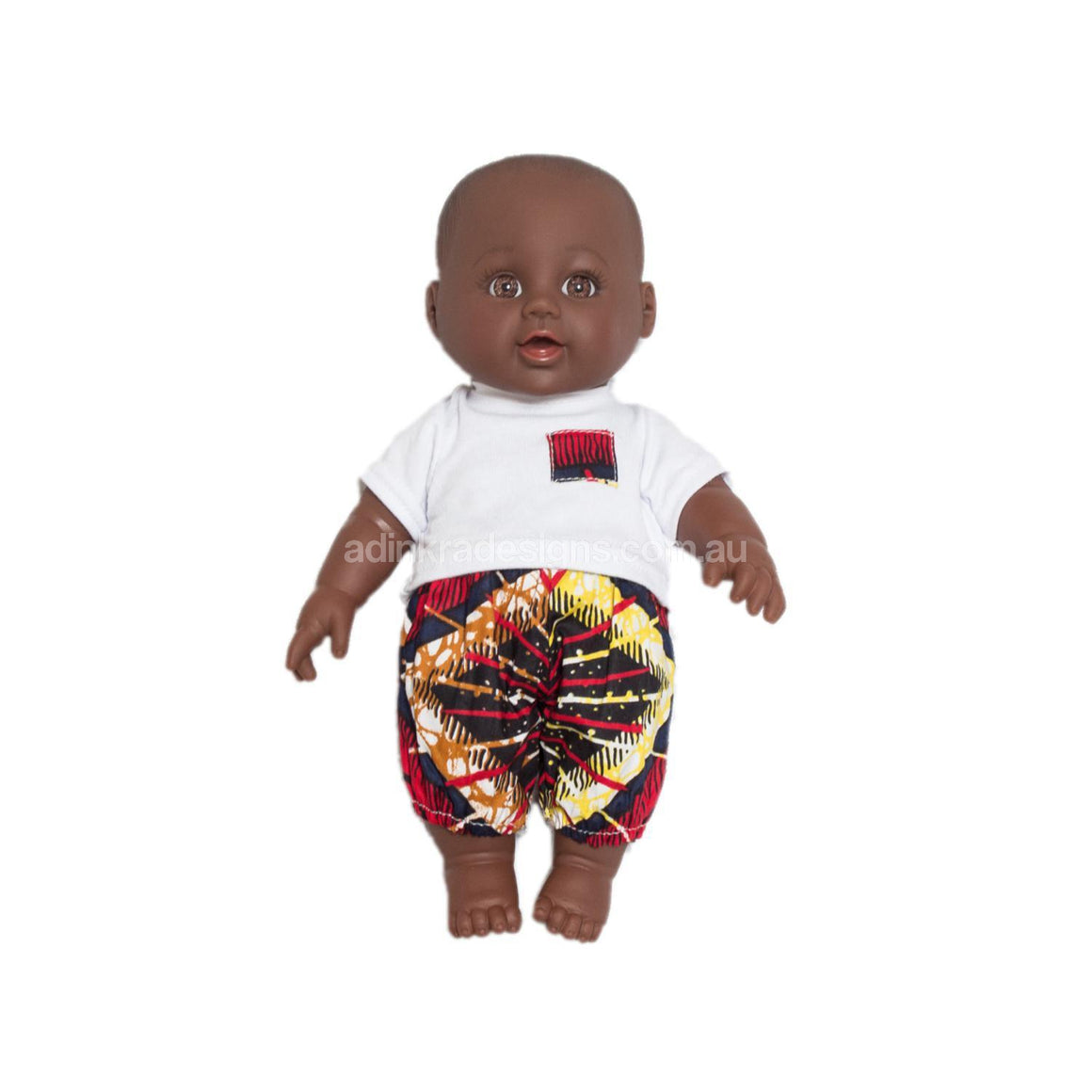 Fair trade African doll for charity Adinkra Project