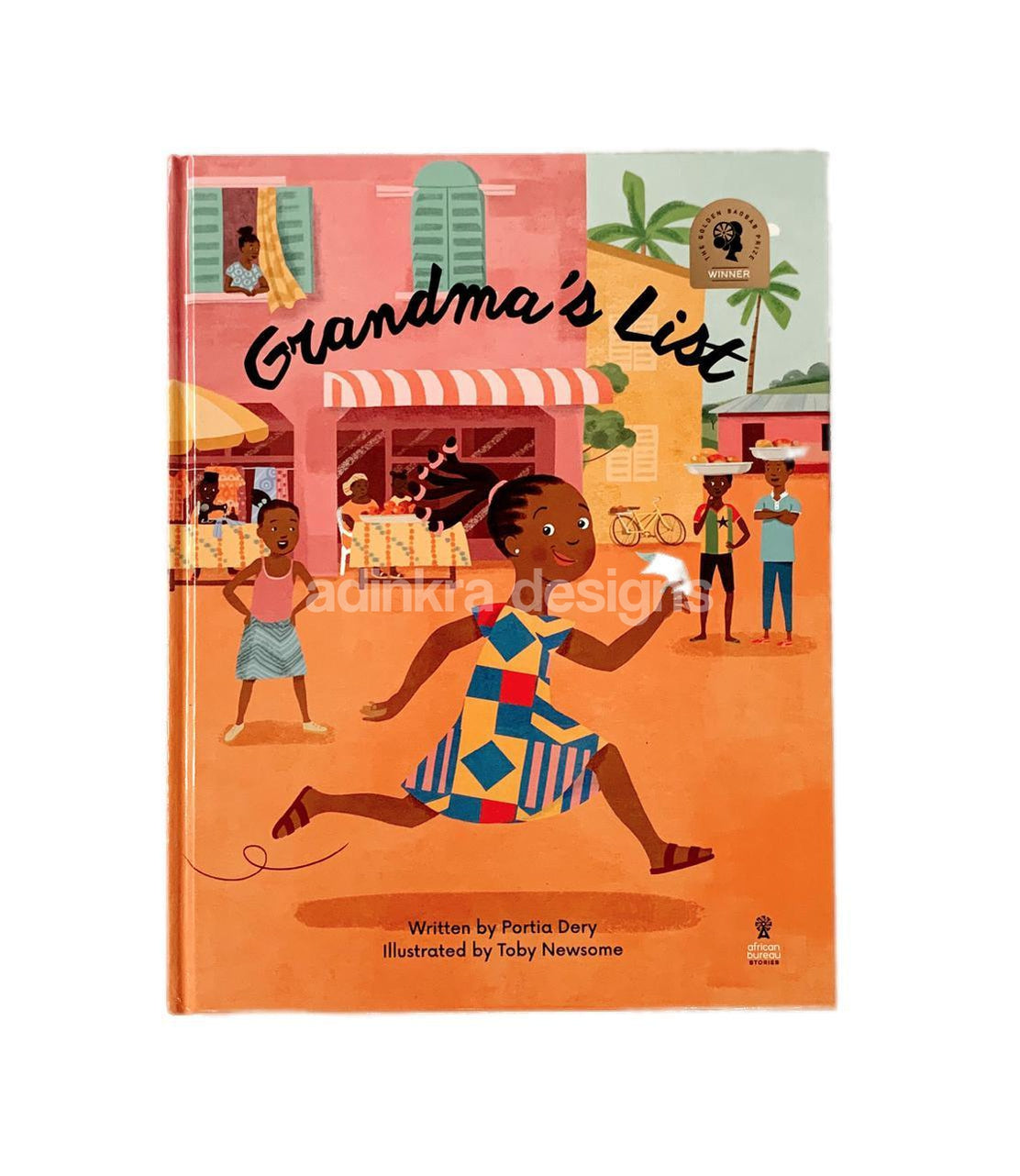Grandma's List - Children's Book-Adinkra Designs