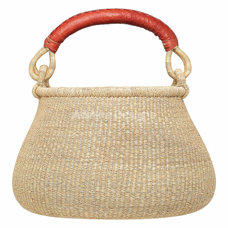 pot basket- Eco-friendly, artisan, fair-trade, wall basket  by Adinkra Designs Ghana