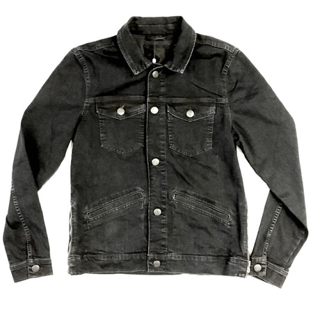 Blend Black Denim Jacket - 20703183