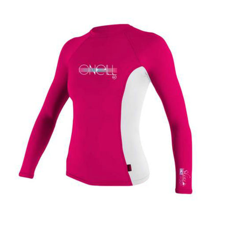 O'Neill Girls L/S Crew Neck Rash Vest
