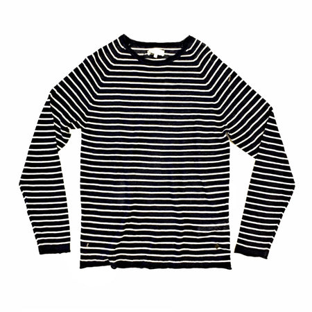Casual Friday Navy Striped T-Shirt - 20500881