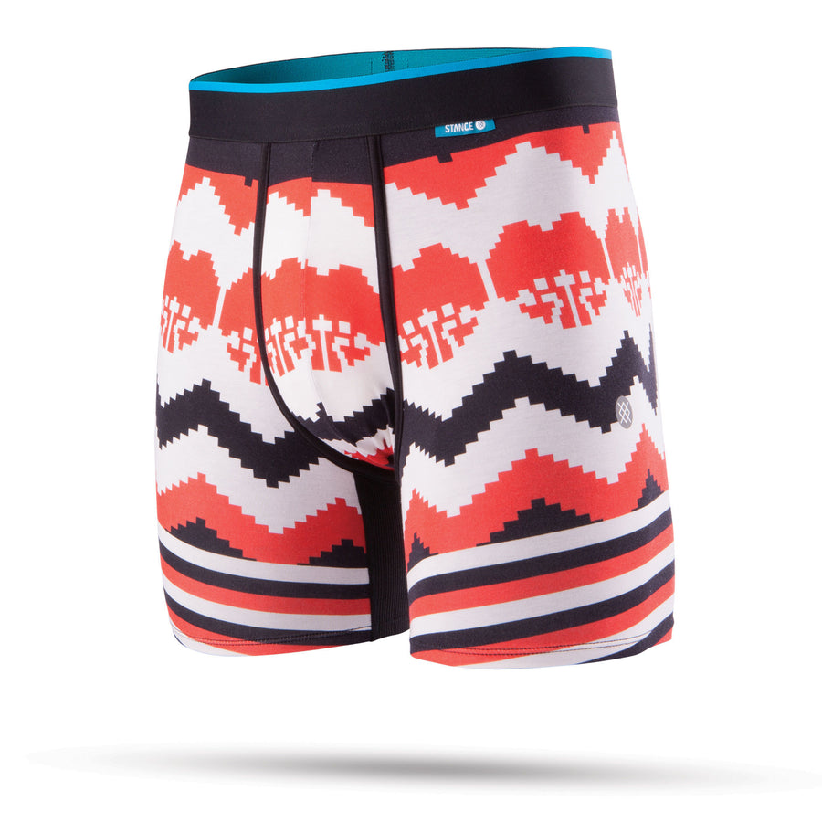Stance Til Death Pixel Mens Wholester Boxer Brief
