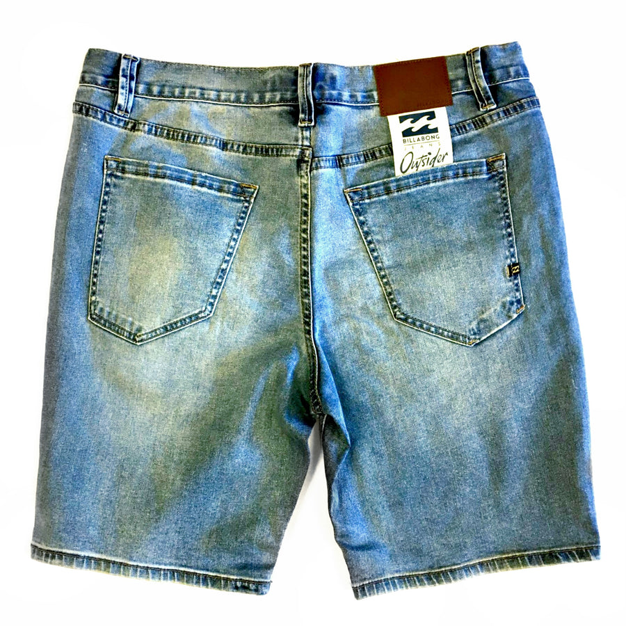 Billabong Mens Outsider Denim Shorts