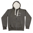 Cleethorpes Charcoal Zipped Hoody