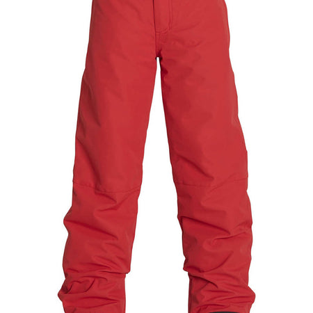 Billabong Classic Boy Snow Pants Red