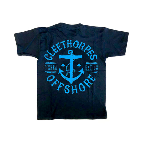 Cleethorpes Navy Kids T-Shirt