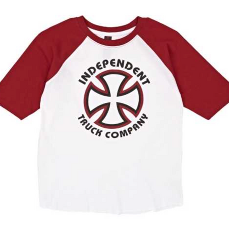 Independent Classic Bauhaus Baseball T-Shirt