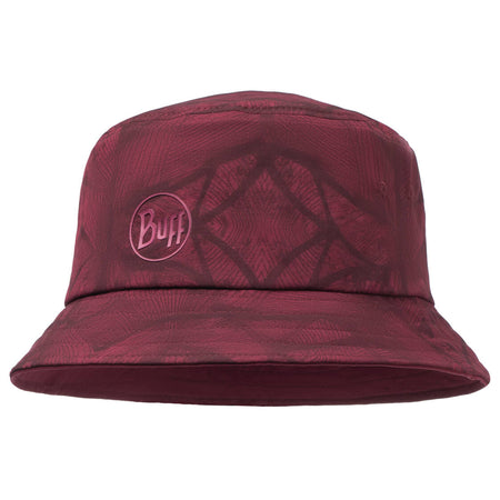 Red Buff Trek Bucket Hat