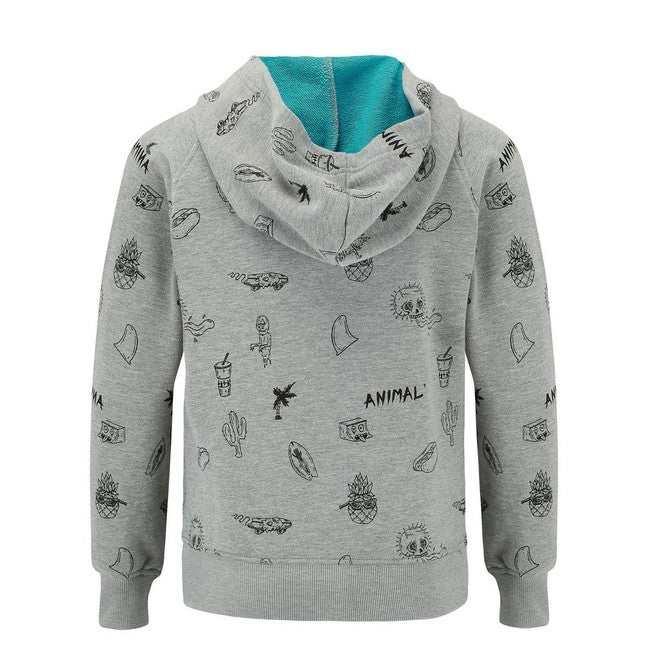 Animal Boys' Holtet Full Zip Hoodie