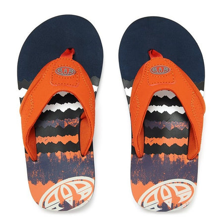 Animal Boys' Jekyl Logo Flip Flops
