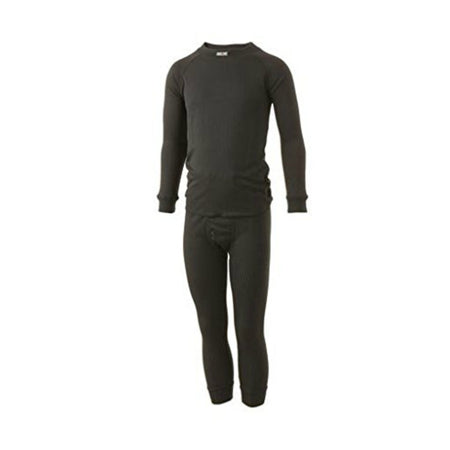 Five Season Superkids Black Ski Thermals
