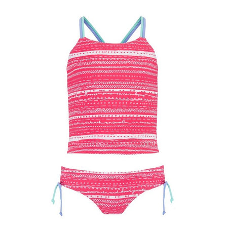 Animal Girls' Rainbow Tankini
