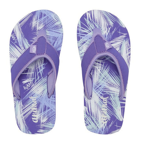 Animal Girls' Swish All Over Print Flip Flops