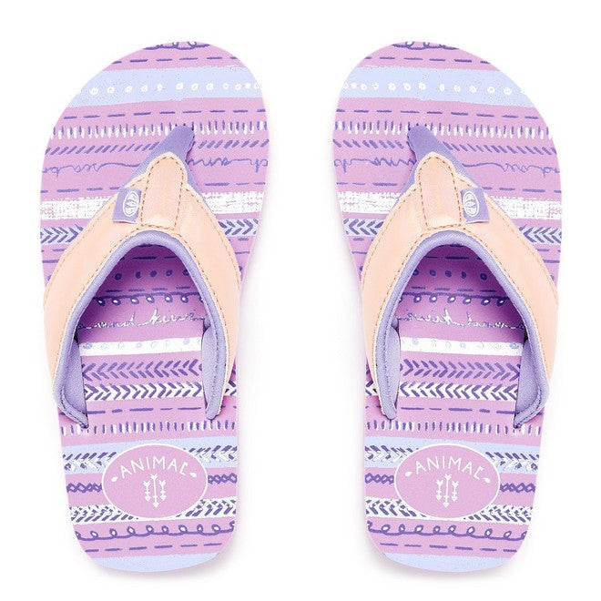 bf6597133a36 Animal Girls  Swish Glitz Flip Flops – Reef Rash