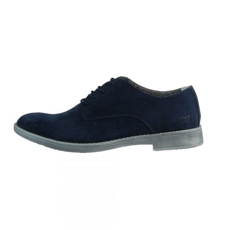 Dude Volterra Suede Navy Derby Shoe