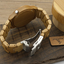 YALI Wooden Watch