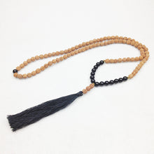 GRAN CANARIA Onyx mala necklace