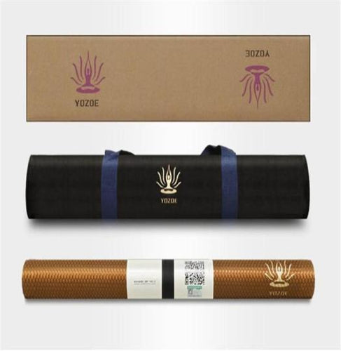 KAWLOON Natural Rubber Yoga Mat