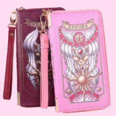 Sakura and Clow Long Wallet