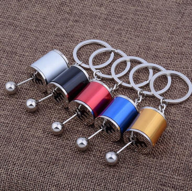 Manual Transmission Six-Speed Gear Lever Keychain Shifter