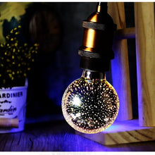 3D Fireworks Bulb Light
