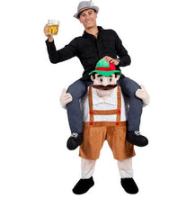 Octoberfest Ride-on-Shoulder Costume