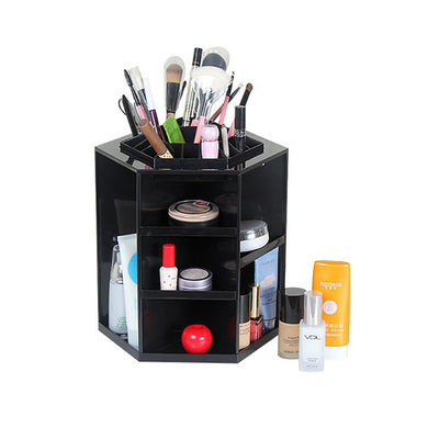 Rotating Make-Up Organizer