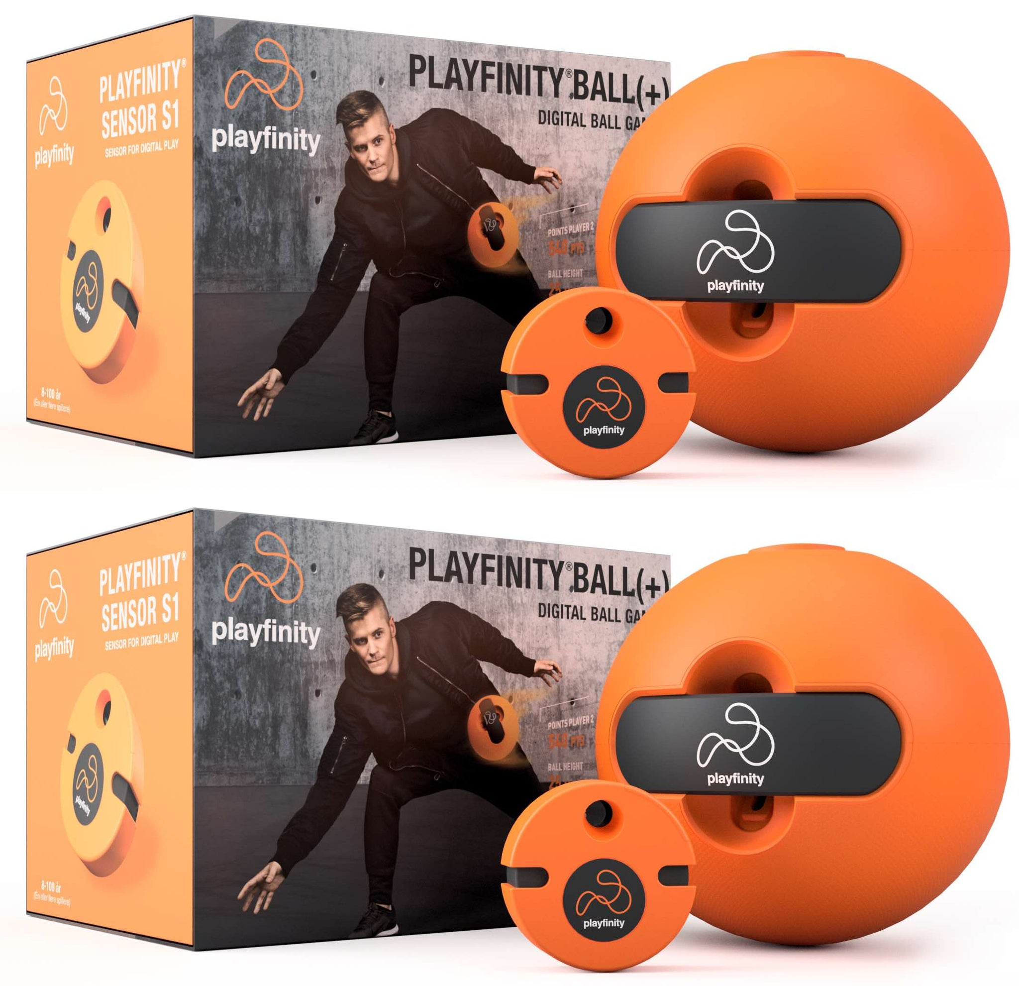 2 Pack Playfinity Ball(+)